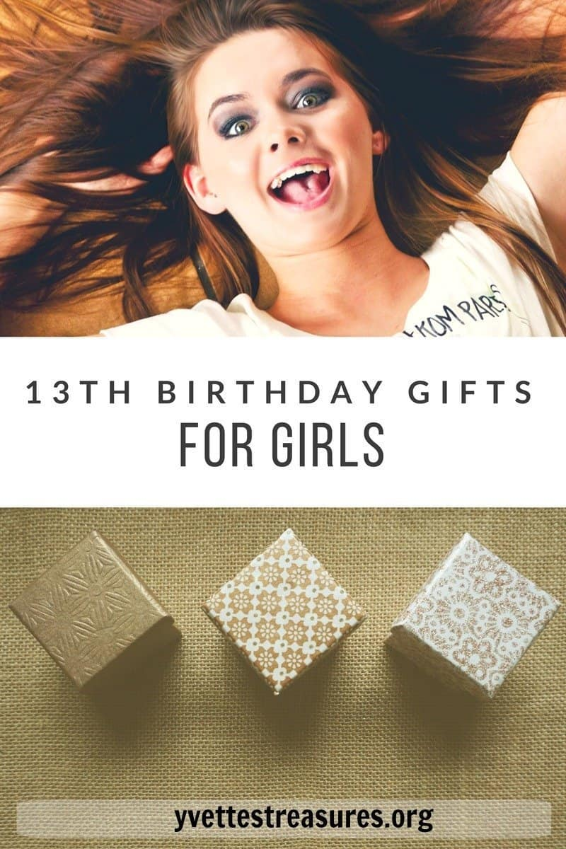 Yes Please 13TH BIRTHDAY GIFTS FOR GIRLS