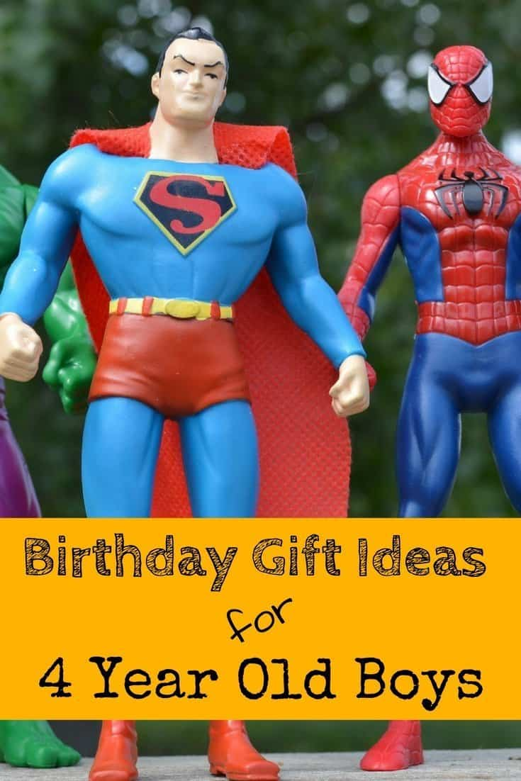 40 Best Birthday Gift Ideas For 4 Year Old Boys