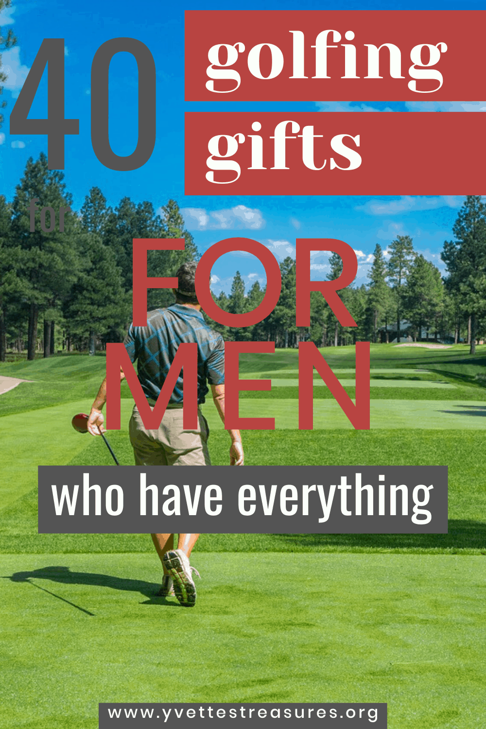 popular golfing gifts for men