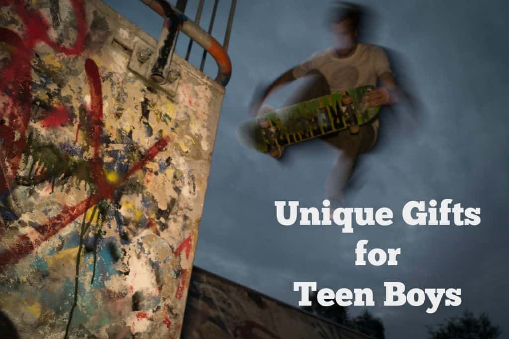 unique gifts for teen boys