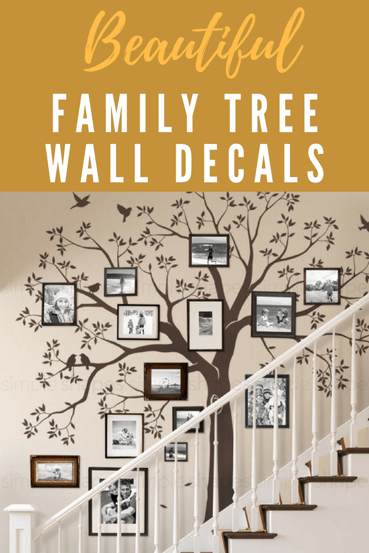 family tree wall murals