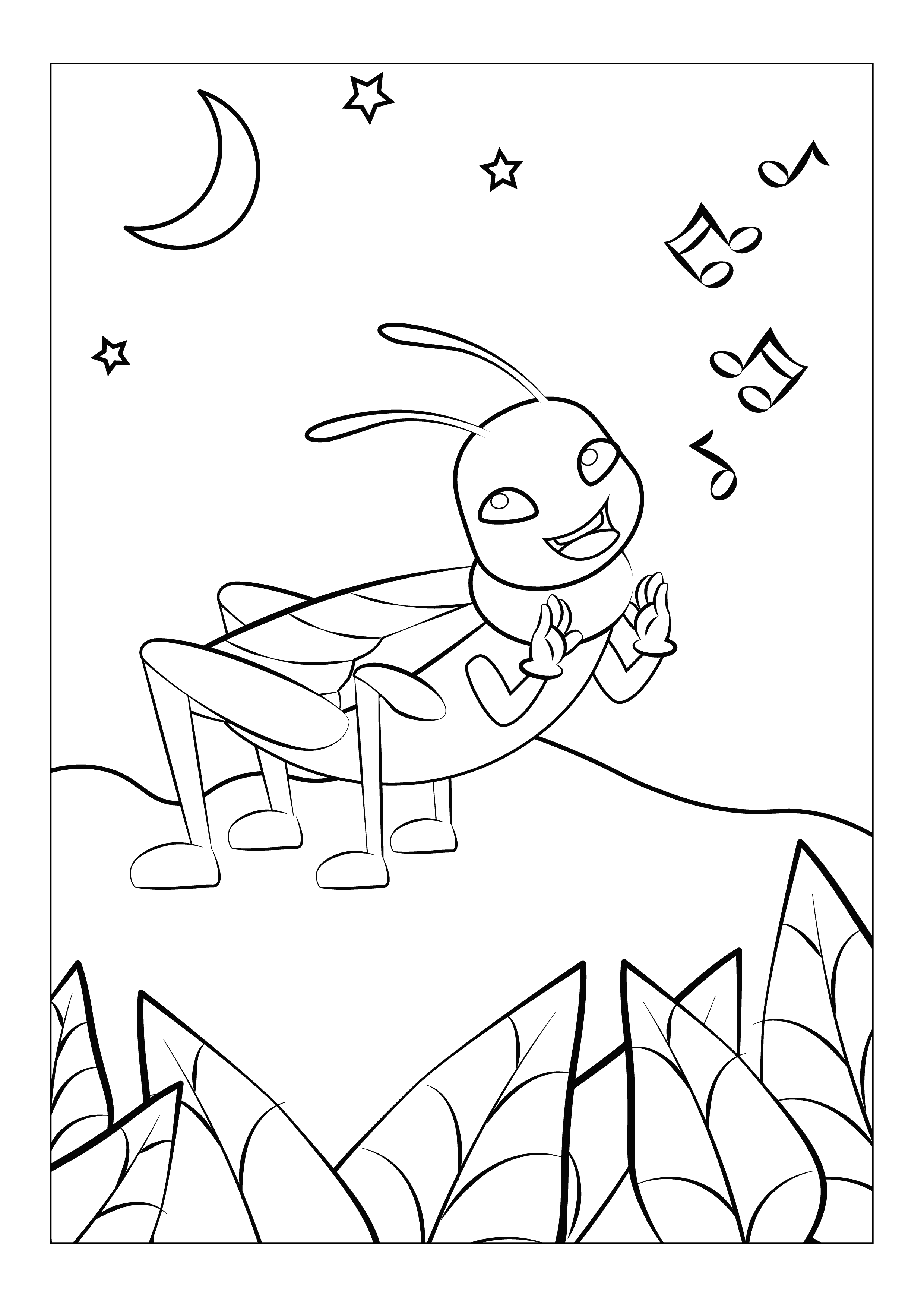 Free Online Coloring Pages With Super Cool Bugs