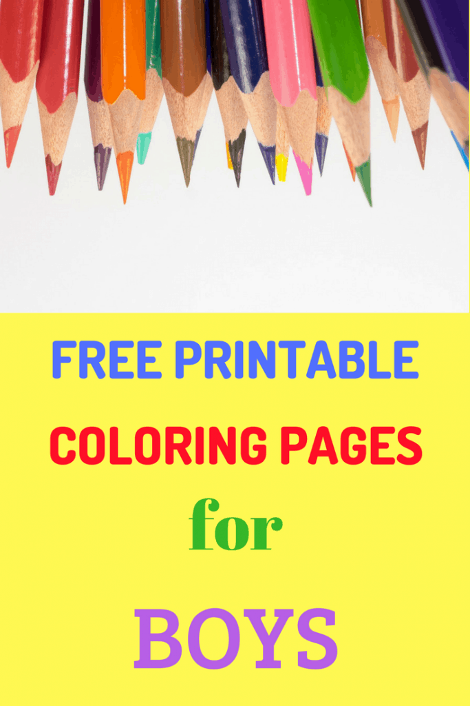 Free Printables For Boys