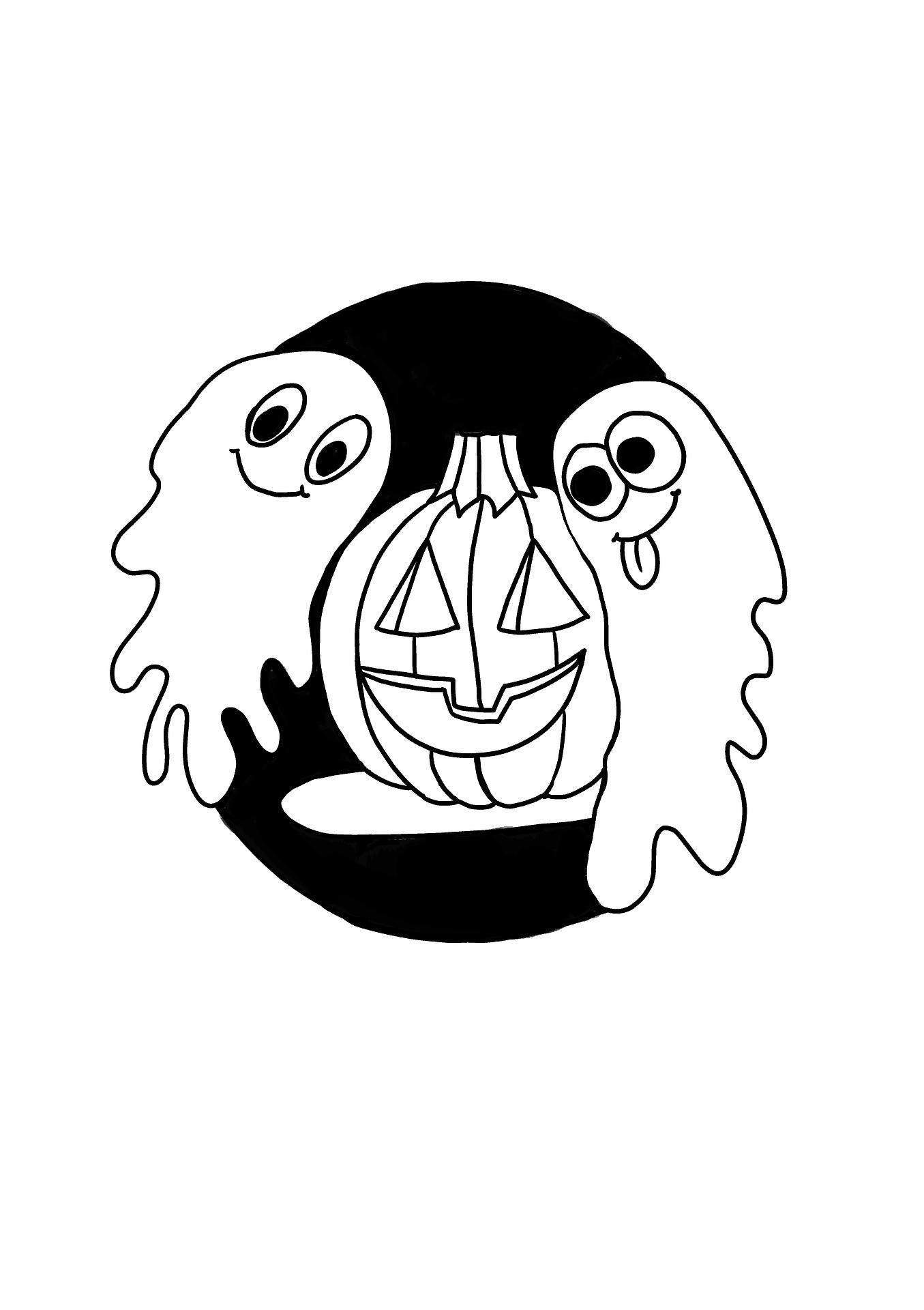 free Halloween printables kids