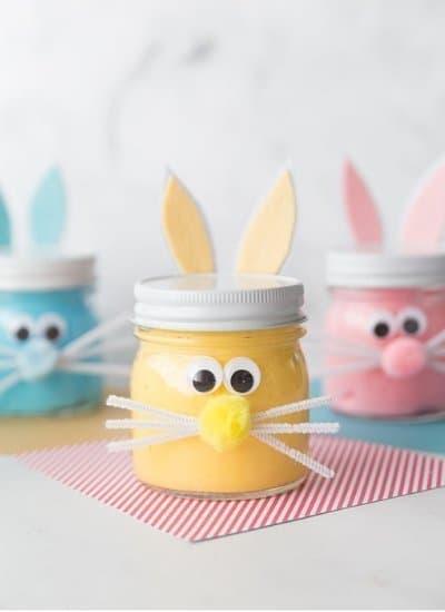 Easter Bunny Mason Jar Crafts