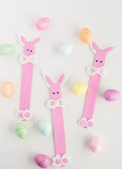 Easter Craft Easter Bunny Craft Sticks