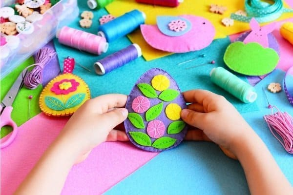 DIY Easter crafts kids