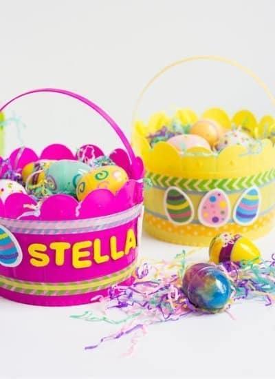 DIY Kids Easter Baskets