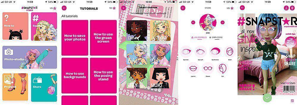 Snapstar doll app