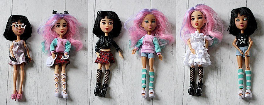 Snapstar-Dolls-in-Different-Outfits