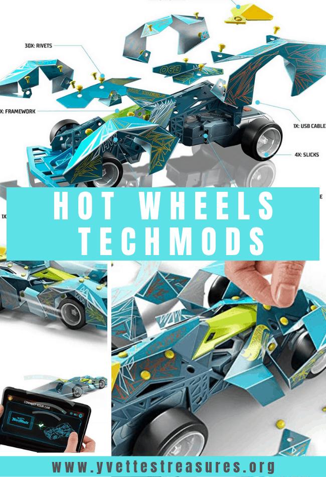 hot wheels techmods rc cars