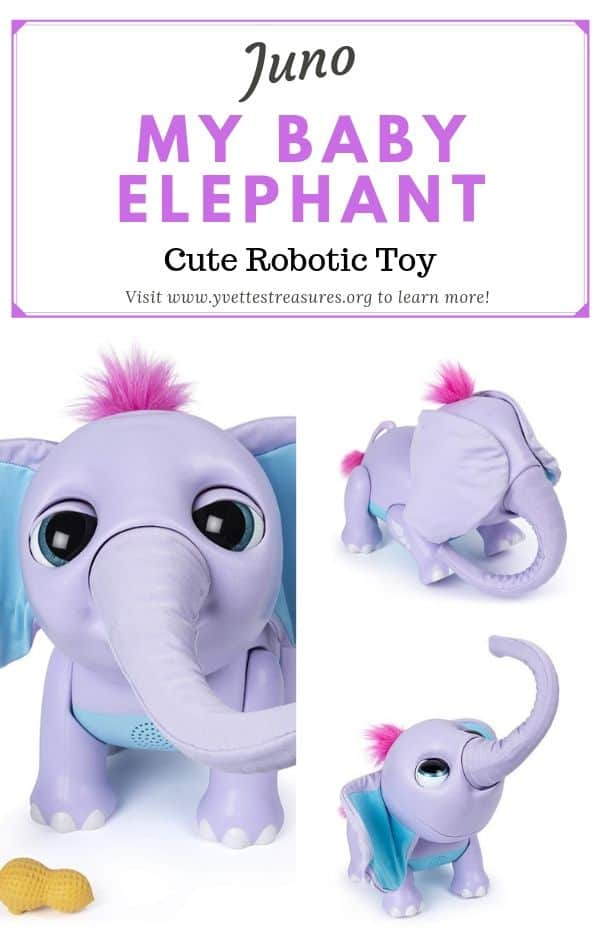 Juno Interactive Toy Elephant