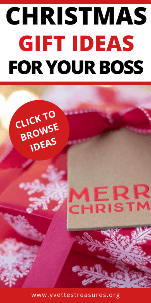 Christmas Gift Ideas For Your Boss