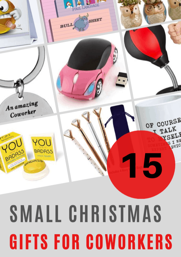 Christmas gift ideas for coworkers