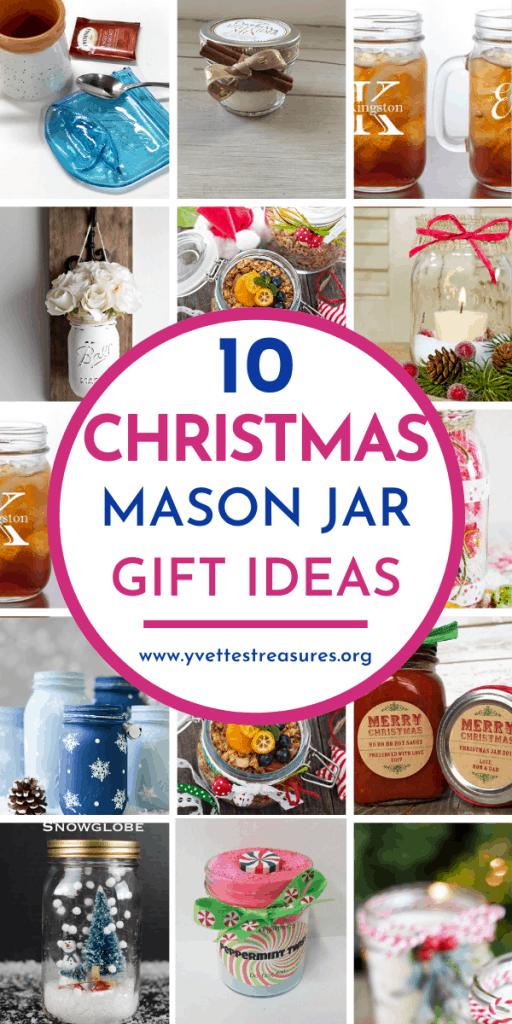 Christmas mason jar DIY gifts