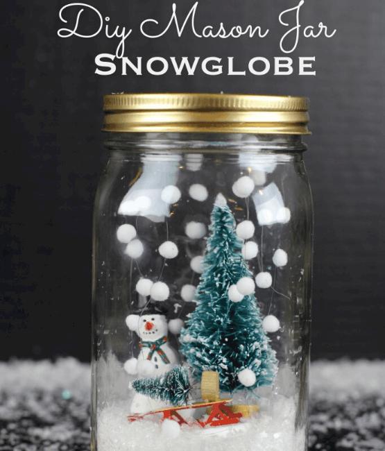 DIY mason jar gift