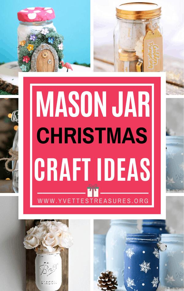 MASON JAR CRAFTS CHRISTMAS