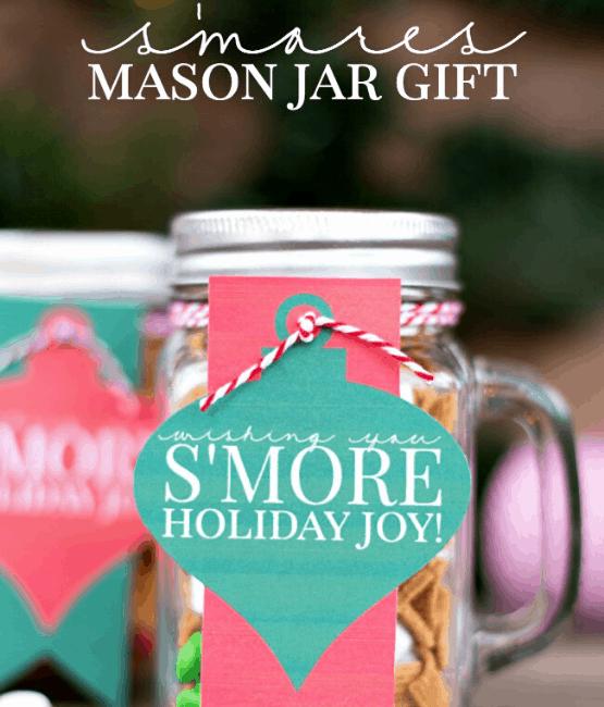 Smores Mason Jar Gifts