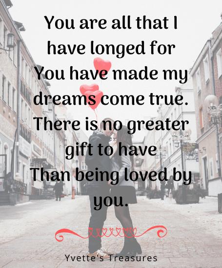 Valentine gift quotes