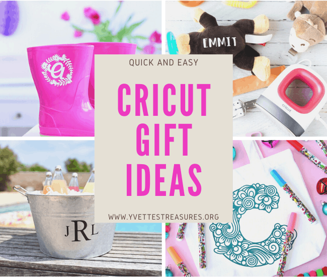 Cricut personalized gift ideas