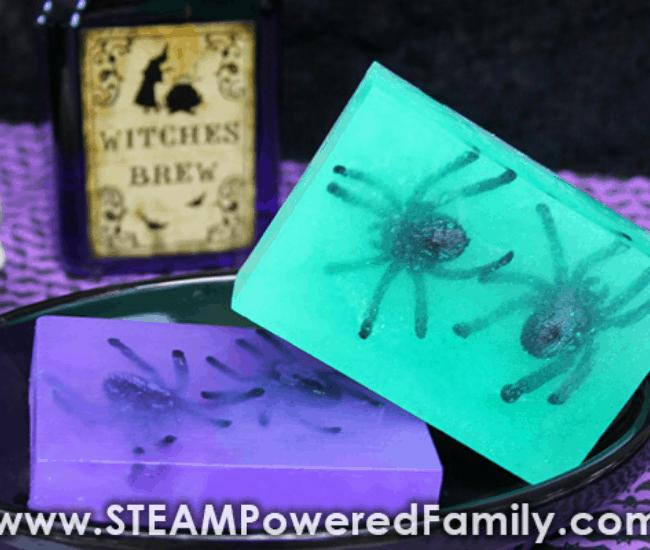 homemade scary soap ideas