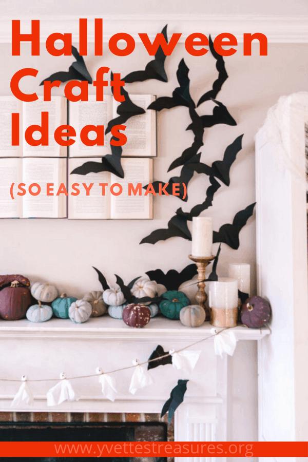 easy DIY Halloween craft ideas