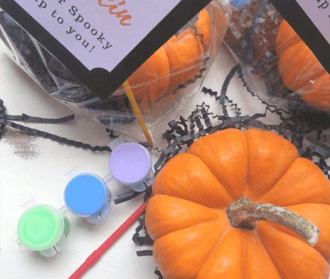 DIY Paint A Pumpkin Kit