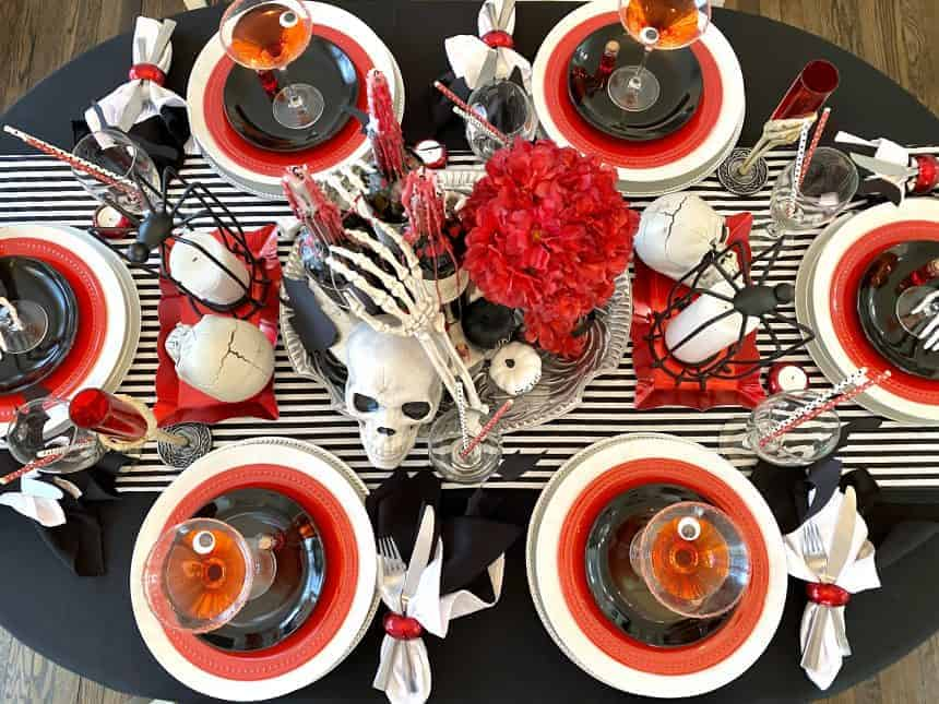 Halloween dinner party for adults