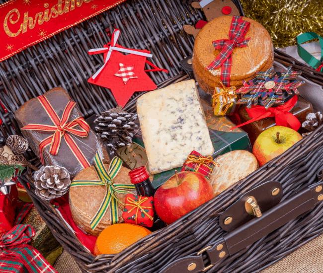 gourmet Christmas gift baskets