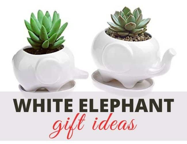 Unique White Elephant Gifts