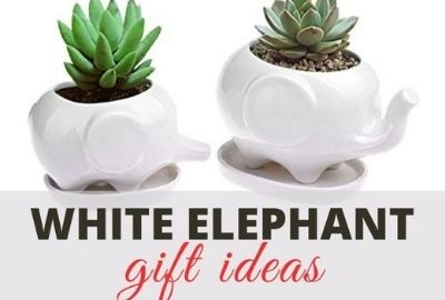 Unique White Elephant Gifts