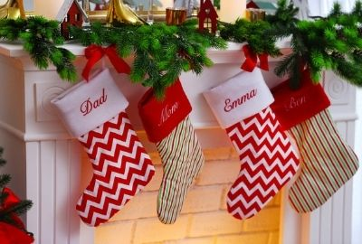 Holiday Christmas stockings