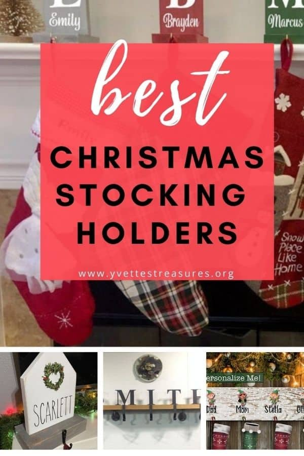 PERSONALIZED CHRISTMAS STOCKING HOLDERS