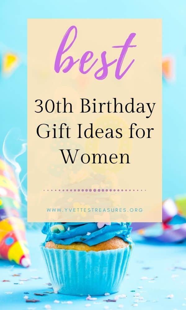 30th birthday presents women