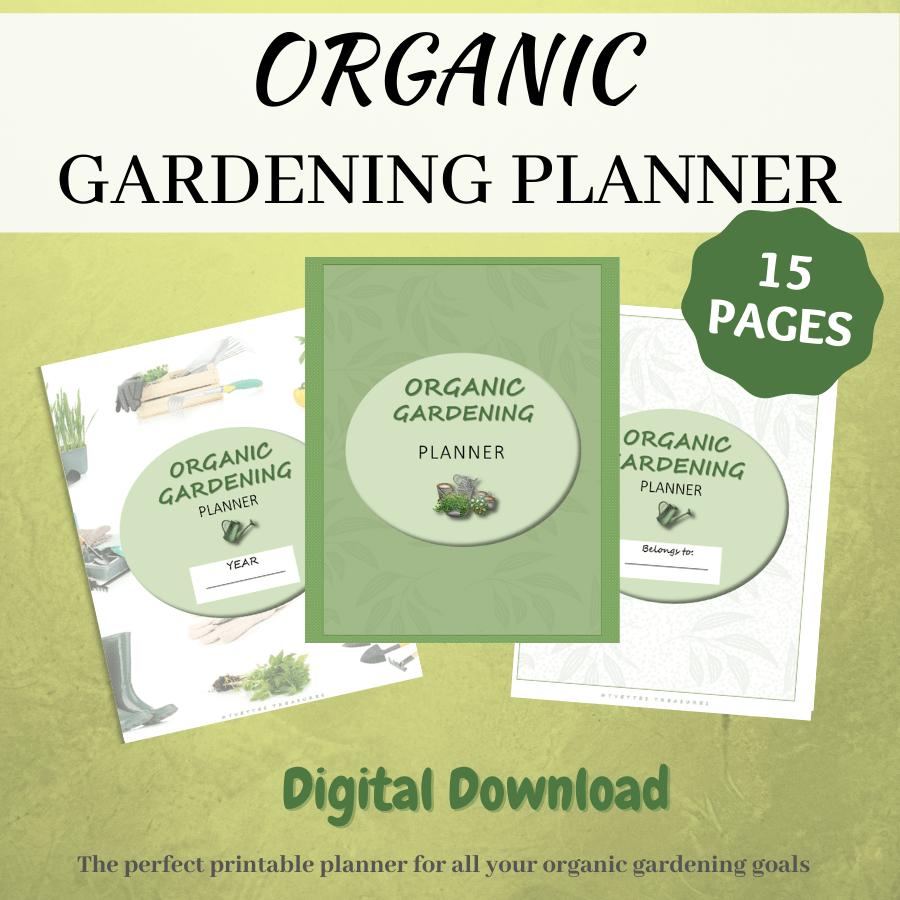 organic gardening planner