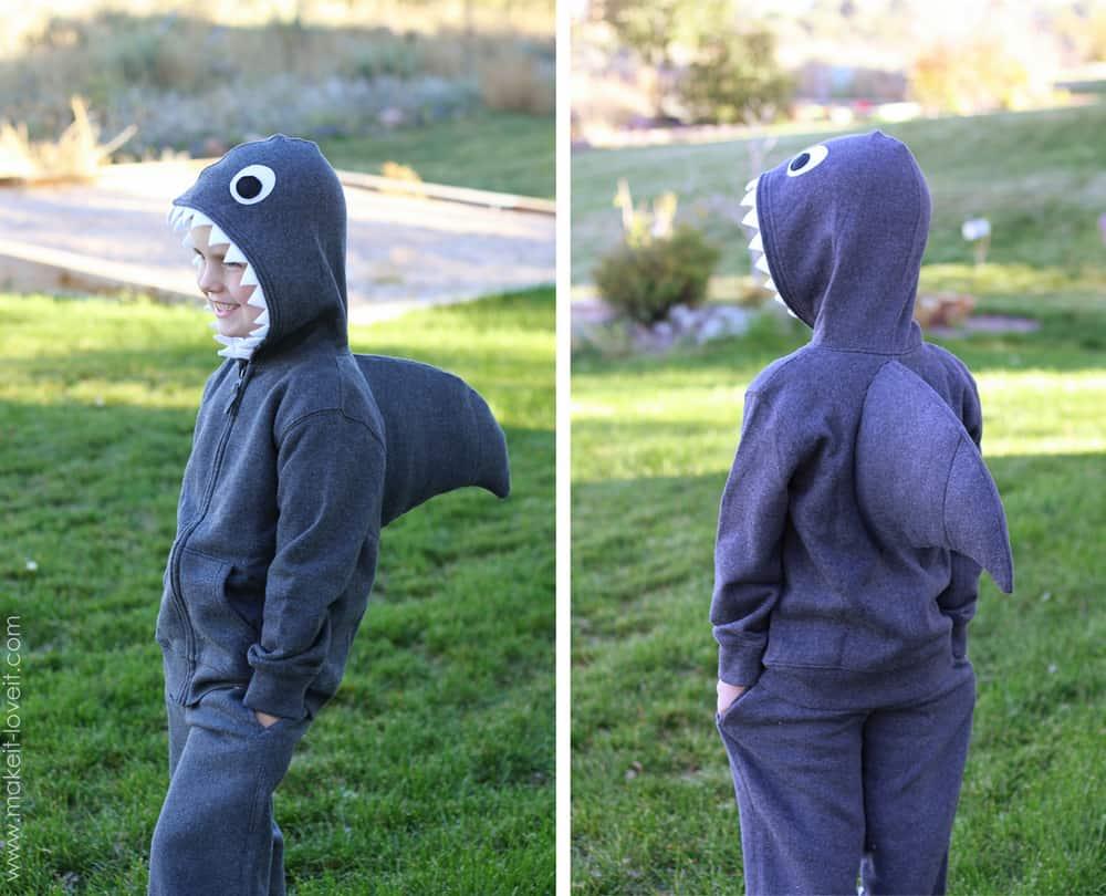 make Halloween costumes for kids