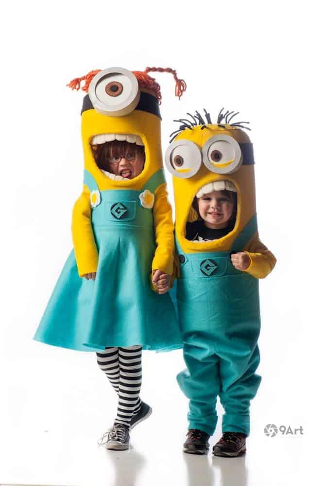 homemade Halloween costume kids
