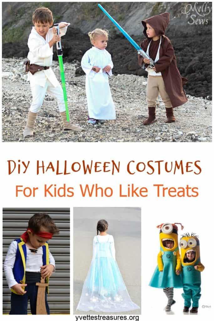 Cute DIY Halloween Costumes For Kids